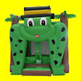 Frog Bouncer Inflatable