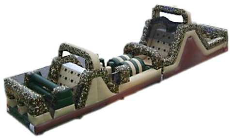 Camo Extreme Inflatable Obstacle Rental Toronto
