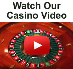 Watch Checker's Casino Video with Roulette Wheels, Poker, Craps, Black Jack, Prize Wheels and More!