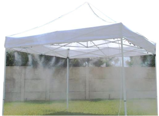 Stay Cool With The Misting Tent