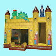 Dragon Castle 5-in-1 Slide Multiplay - Toronto, Mississauga, Brampton, Hamilton, Ottawa, Ontario