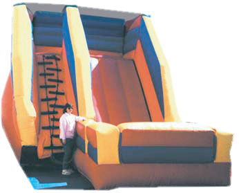 Giant Flat Top Inflatable Slide Toronto Mississauga