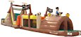 Pirate Obstacle Inflatable Party Game