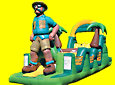 Safari Man Obstacle Inflatable