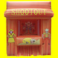 Saloon Wild West Shootout Inflatable Interactive Game