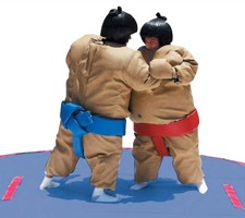 Our Sumo wrestling suits are a real crowd-pleaser that will liven up any party, fundraiser, or team building event.