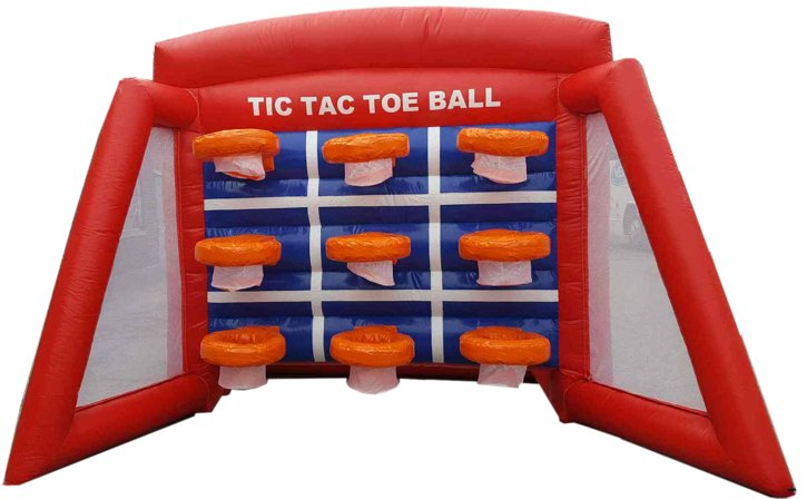Tic Tac Toe Hoops Inflatable In Toronto Mississauga
