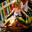 Turtle Train Kiddie Ride